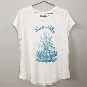NEW Lucky Brand Namaste Top